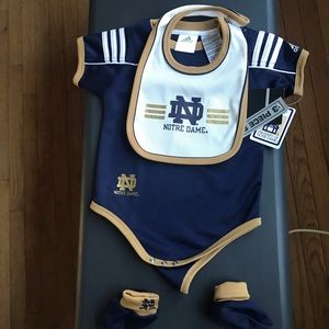 Norte Dame 3 piece set 18m